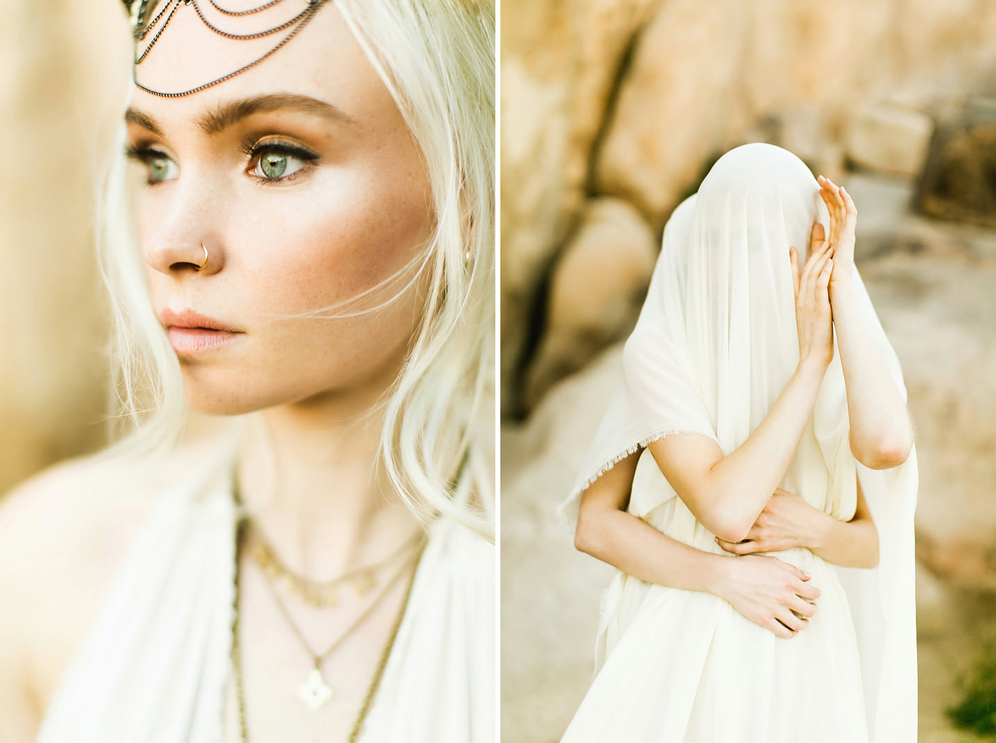Joshua Tree Editorial Photo Shoot / Jenna Mahr / Ben Sasso