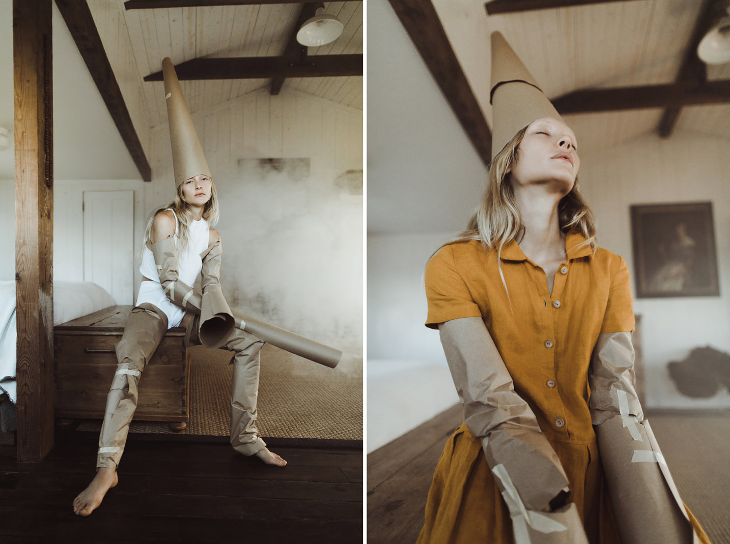 Alexis Hutt / Indoor Natural Light Editorial / Ben Sasso