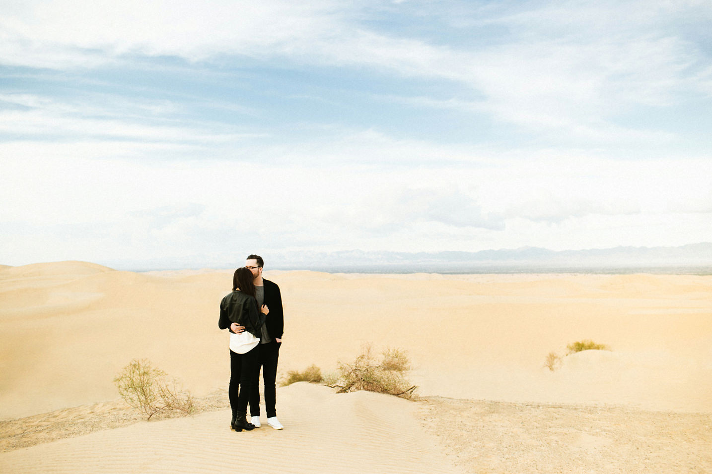 Imperial Sand Dunes Couple Session / Ben Sasso