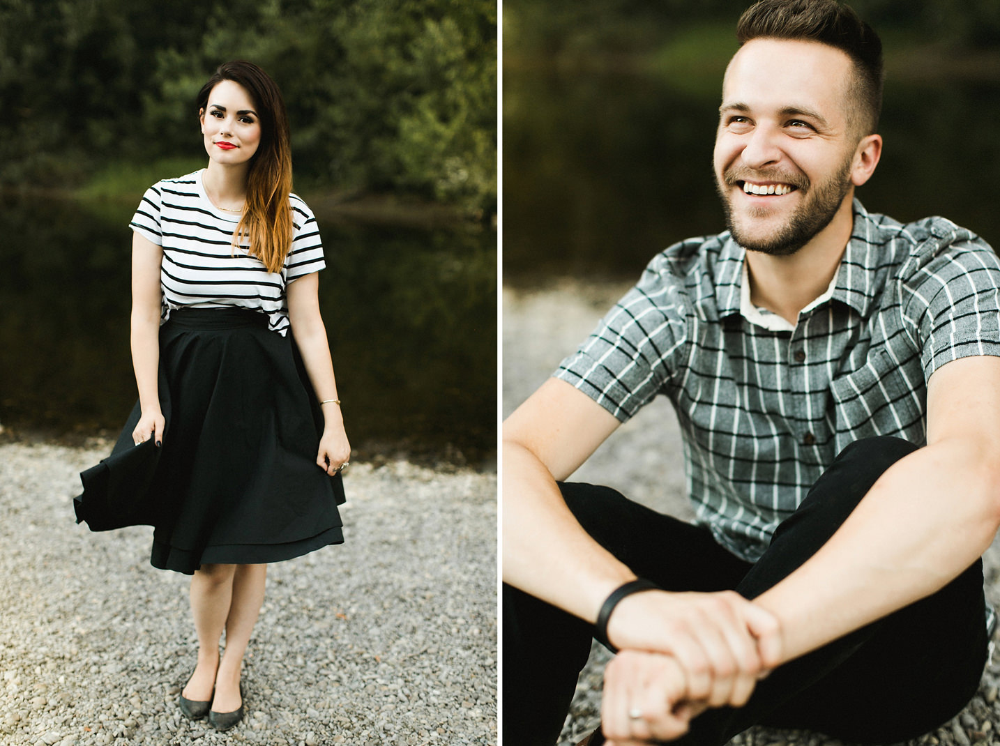 Northern California Redwoods Couple Session